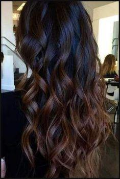 Die besten 25+ Dark ombre hair Ideen auf Pinterest | Haarfarbe ... | Einfache Frisuren