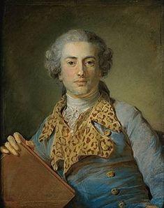 Jean Georges Noverre. Pastel de Jean-Baptiste Perronneau. (Musée du Louvre, Paris.)