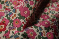 Betsy Pink - Tana Lawn - Liberty Of London - Tessuti Fabrics - Online Fabric Store - Cotton, Linen, Silk, Bridal & more