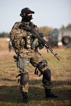 Polish Special Forces Operator