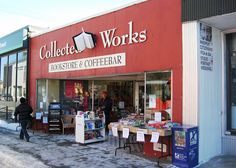 Collected Works Bookstore  Coffeebar (Ottawa, Ontario, Canada) by Literary Tourist, via Flickr