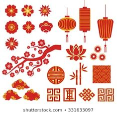 Find Chinese Korean Japan Decorative Vector Icons stock images in HD and millions of other royalty-free stock photos, illustrations and vectors in the Shutterstock collection. Chinese Icon, Chinese Art, Chinese Drawings, Chinese New Year Decorations, New Years Decorations, Japan Icon, Chinese New Year Design, Asian Party, New Year Illustration