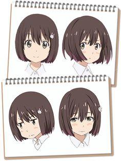 Moe Manga, Moe Anime, Anime Manga, Character Model Sheet, Character Design, Japanese Pop Art, Anime Faces Expressions, Manga Poses, Manga Tutorial
