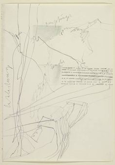 Joseph Beuys 'Score for Action with Transmitter (Felt) Receiver in the Mountains', 1973 © DACS, 2014