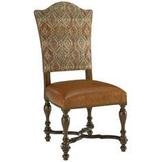 Fine Furniture Design Biltmore Upholstered Dining Side Chair Set of 2