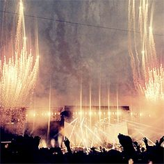 I'm not going to have fireworks at my otra bc it's in an arena,!!