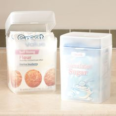 Flour And Sugar Keepers - Zoom