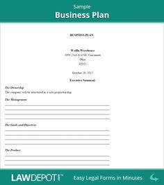 Action Plan Templates Word Simple Business Plan Outline  Business Plan Template  Pinterest .