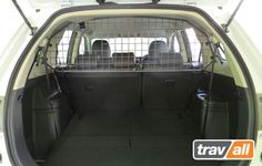 Custom Made Dog Guard for Mitsubishi Outlander 2012 on