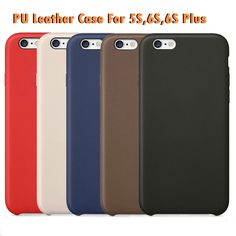 Official Original 1:1 Pu Leather Case Cover For iPhone 6 6s 7 case 4.7/5.5 inch Original Copy Back Cover