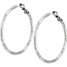 ABC Large Earring Charm Hoop