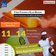 Mais um #tipster #onfire com um série fabulosa de #green! Concordas com o #palpite do BrunoAlex?   http://www.apostaganha.pt/2015/07/30/prognostico-apostas-fabio-fognini-vs-aljaz-bedene-hamburgo/  #tennis #ATPWorldTour #fabiofognini #apostasdesportivas #apostasonline #aljazbedenel #atphamburgo #gambling #apostas #ApostaGanha #gambling #tenis #bets #sportsbetting #sports #atp