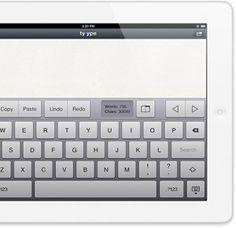 Tyype y el concepto de editor multitactil para iPad