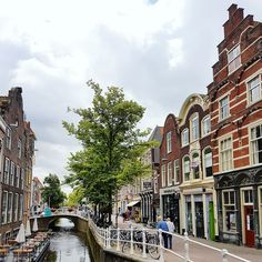 Delft, Netherlands - like Amsterdam, but smaller and more intimate!