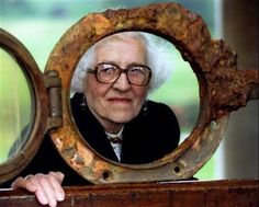 """The last survivor of the 1912 sinking of the """"Titanic,"""" Millvina Dean, died in a nursing home in England at the age of 97, on May 30, 2009."""