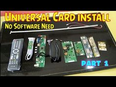 Universal card installation in any tv part 1 About this video:- in this video I'm telling how to install universal LCD LED TV card in any LCD led TV. Tv Backlight, Digital Microscope, Science And Technology, Led, Youtube, Cards, Maps, Playing Cards, Youtubers