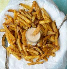 Frites de navet / Je n'ai pas réussi à faire des frites croustillantes (revoir la cuisson proposée) mais le résultat était quand même super bon !
