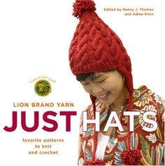 Lion Brand Yarn Just Hats Favorite Patterns to Knit and Crochet ** Click image for more details.