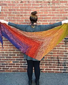 WEBSTA @ sewickleyyarns - Find Your Fade by Andrea Mowry is the perfect excuse for massive amounts of color play! We used Madeline Tosh and Meadowcraft Dyeworks to make this massive shawl. @dreareneeknits @meadowcroftdyeworks @madelinetosh #findyourfadeshawl #findyourfade #findyourfadekal #andreamowrydesigns #sewickley #yarn #knittersofinstagram #knitting #knit #handdyedyarn #knittinglove #rainbow #shawl #handmade #madelinetosh #yarnrehab #sockyarn #sewickleyyarns #handmade