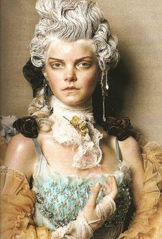 Through the Lens. Steven Meisel, A Fine Romance, Christmas Makeup, Baroque Fashion, Marie Antoinette, Androgynous, Makeup Tips, Piercing, Makeup Looks
