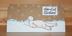 Christmas has arrived at Hobby Art! Introducing 'Poles Apart' New Size Clear set contains 14 stamps. Designed by Sharon Bennett. Card by Becki Mayes Easel Cards, Art Cards, Handmade Christmas, Christmas Crafts, Baby Polar Bears, Xmas Cards, Clear Stamps, A5, Cardio