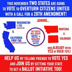Help end legalized bribery in our electoral system