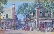 """New artwork for sale! - """" The Street Of Blood Delhi 1880 by North Marianne """" - http://ift.tt/2r53qZ2"""