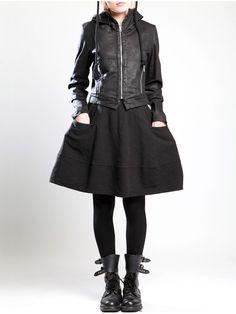 Rustic Cotton Skirt by LURDES BERGADA