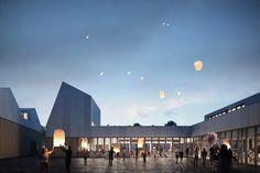Cultural Center in Badalona on Behance
