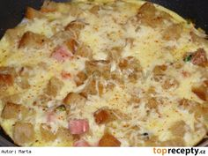 Rychlá topinková omeleta