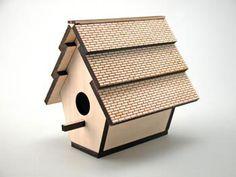 Laser Cut Birdhouse