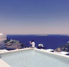 The Podenco Eivissa man, with a Ibiza view... Ibiza Style, Ibiza Fashion.