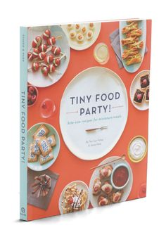 Tiny Food Party with my mini forks and spoons! Tiny Food Party, Parties Food, Theme Parties, Vintage Books, Retro Vintage, Girl Boss Book, Bite Size Food, Retro Party, Desert Recipes