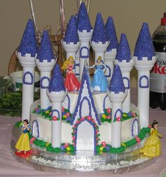 Disney Princess castle cake