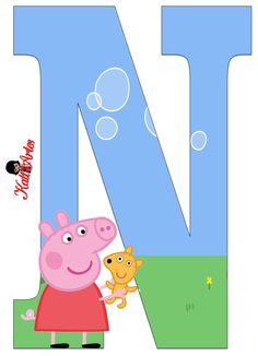 EUGENIA - KATIA ARTES - BLOG DE LETRAS PERSONALIZADAS E ALGUMAS COISINHAS: Peppa vestido vermelho Alfabeto Bolo Da Peppa Pig, Cumple Peppa Pig, Pig Birthday Cakes, 1st Boy Birthday, Cumple George Pig, Papa Pig, Pig Party, Birthday Pictures, Malm