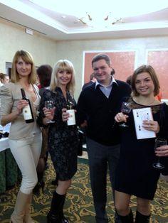 Argiolas Wines in Rostov. Italian Wines' Summit - November 2012