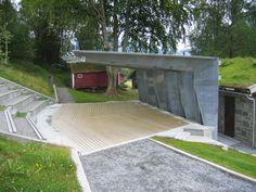 Ivar Aasen Centre/ Sverre Fehn
