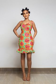TrueFond Ghana makes African dresses and Ankara clothing in both modern styles and classic silhouettes. African Dresses For Kids, African Fashion Ankara, African Inspired Fashion, Latest African Fashion Dresses, African Dresses For Women, African Print Fashion, African Attire, African Prints, Belle Epoque