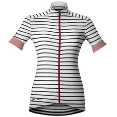 The Cafe du Cycliste Women's Suzanne Jersey is a beautifully fitted, lightweight women's road cycling jersey ideally suited to warm weather club run or sportive rides.Designed for all-day col-topping adventures, the Suzanne sports a full front zip, 3 handy rear pockets complemented by a zippered key pocket