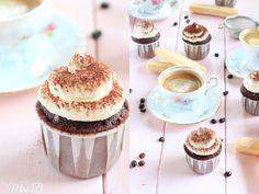 Miss Blueberrymuffin's kitchen: Tiramisu Cupcakes mit ALBERTO Espresso [Danke Mamma!]