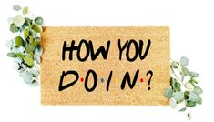 Cricut Explore Projects, The Husk, Funny Doormats, Best Shakes, Coir, Friends Tv Show, House Warming, Fiber, Home Decor