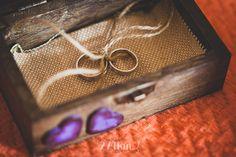 cajita campestre anillos boda