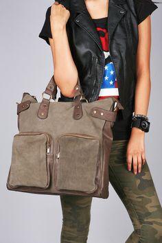 Workspace Book Bag | Trendy Bags at Pink Ice #bookbag #bags #cutebags #trendybags #suedebags #pinkice