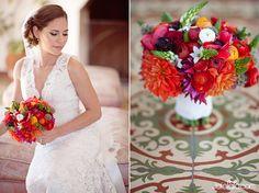 bold colorful bouquet