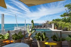 Le Petit Nice is a five star hotel, and three starred Michelin restaurant set on the Mediterranean in Marseille. Outstanding views, outstanding flavours.