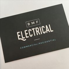 Modern electrician logo business card pinterest card templates recent business card and logo design for electrician based in stockbillericay essex reheart Images