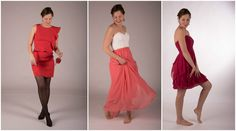 Valentines Dresses Follow us on instagram: ellamaxim and check out our blog: www.ellamaxim.com  Fashion Dress Maxidress Pink Red Valentine Fotoshoot Photography Model Fun