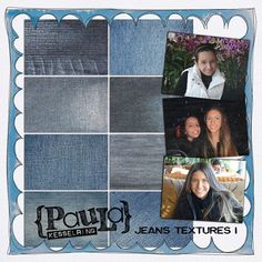 Jeans Textures #1 by Paula Kesselring