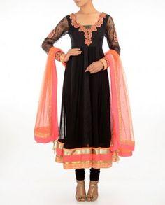 #Exclusivelyin, #IndianEthnicWear, #IndianWear, #Fashion, Black Suit
