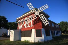 Route 66 - The Mill Restaurant, Lincoln, Illinois.
